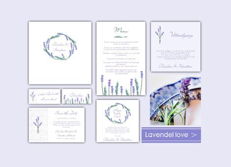 Trouwhuisstijl Lavendel Love