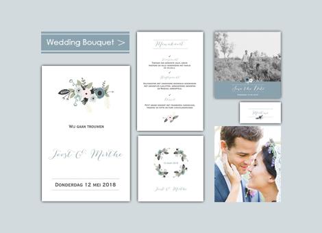 Trouwhuisstijl Wedding Bouquet